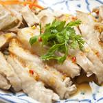 鶏肉のピリ辛レモン&ハーブソース