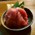 居酒場 大和 - 【2017.6.16(金)】マグロのそぎ落とし盛り780円
