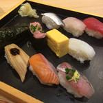 板前寿司 江戸 - 彩りセット980円