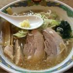 特麺コツ一丁ラーメン - ラーメン 麺半分 700円