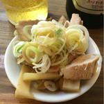 特麺コツ一丁ラーメン - おつまみ 100円