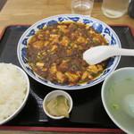 68689210 - [ランチ]牛肉麻婆豆腐セット