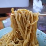 立川マシマシ  - 汁なし向きの胃にズシンなズル系重い麺