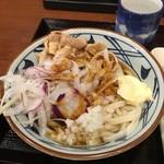 丸亀製麺 - 豚しゃぶぶっかけ並620円