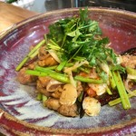 68692160 - 羊肉と中国セロリ十三香粉炒め