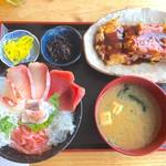 大間新栄丸 - 地魚丼 ¥1200円 大盛り無料