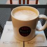 タリーズコーヒー - トールサイズハニーソイラテ(510円)です。
