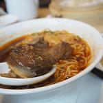 68693417 - 牛肉の煮込み麺