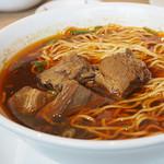 68693419 - 牛肉の煮込み麺
