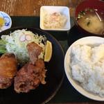 高島屋食堂 - ザンギ定食  980円