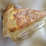 ドーム・シンフォニー - 料理写真:ポテトとベーコンのキッシュ