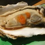 チコちゃん - 料理写真:立派でしょ?生牡蠣
