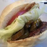 BASHI BURGER CHANCE - ハンバーガーのアップ