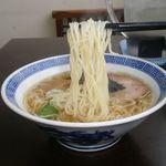 中華そば あまの屋 - 麺
