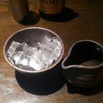 Kyoushiasanoya - 氷と焼酎が別で提供