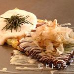 お好み焼 鉄板焼 つる次郎 - 二つの味が楽しめる『二味焼き』
