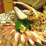 たら福 - 関鯖お造り