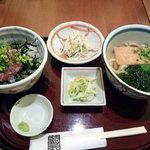 6870403 - ネギトロ丼セット900円也
