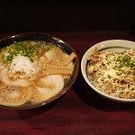 肉支那蕎麦 喜元門 - 肉支那蕎麦+チャーシュー丼