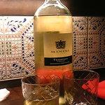 バルマル・エスパーニャ - 量り売りワイン、白。