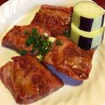 寿々 - 料理写真:リブフィンガー 肋の辺りの肉
