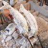 やまめ庵 - 料理写真:予約時間に合わせ鮎と山女魚をじっくり焼いて