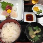 うなぎ・日本料理 ゑびす家 - さしみ定食