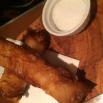 68702641 - 白身魚の包み揚げwithお塩