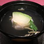 いまい - 椀代わり 鱧と枝豆の真薯
