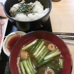 68702809 - 味噌汁とご飯