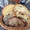 PAUL - 料理写真:パン盛り合わせ。奥に押しボタン!
