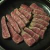 割烹 黒ねこ - 料理写真:牛肉の焙烙焼き