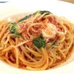 スパゲッティ処 こぱ蔵 - 料理写真:バジルとモッツァレラのトマトスパゲッティ