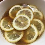 りんすず食堂 - レモンラーメン。わーいわーい⤴︎ビタミンC