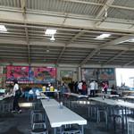 田子の浦港 漁協食堂 - 食堂はこんな感じ