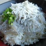 田子の浦港 漁協食堂 - アップ