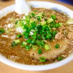 らーめん 萬亀 - 料理写真:担々麺(あっさり醤油)@680円