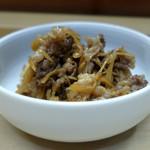 家庭料理 小川 - 牛肉と生姜のしぐれ煮?