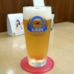 えび三郎 - 生ビール