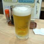 ひもの野郎 - 生ビール