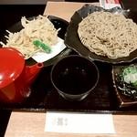 蕎麦雪屋 - ごぼう天そば950円