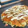 松楽 - 料理写真:シンプルなお好み焼き(^^)