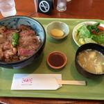 68708798 - ビーフステーキ丼