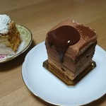 68709520 - 「石畳」というチョコケーキです