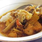 6871171 - スープカリー辛口とご飯