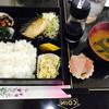 Kaferesutojamu - 料理写真:日替わりランチ 鯖の塩焼き、刺身等