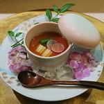 彩懐石 わらび高砂 - 2017,6月、自家製豆腐冷野菜