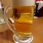 日本海庄や - 生ビール