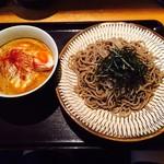 つけ蕎麦安土 - カレーチーズつけ蕎麦(900円)