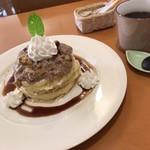パンケーキcafe あいあん - 和栗の藻岩山パンケーキ&コーヒー